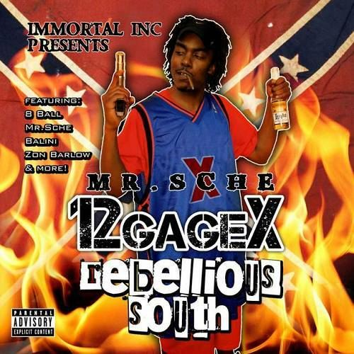 12 Gage X - Rebellious South cover