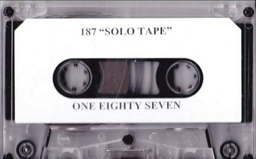 187 Family - Solo Tape cover