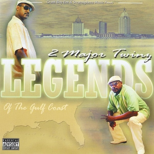 2 Major Twinz - Legends Of The Gulf Coast cover