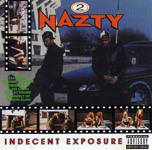 2 Nazty - Indecent Exposure cover