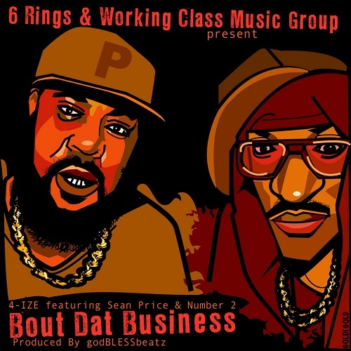 4-Ize - Bout Dat Business cover