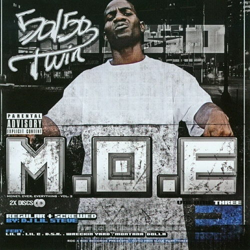 50-50 Twin - M.O.E. Money. Over. Everything Vol. 3 cover