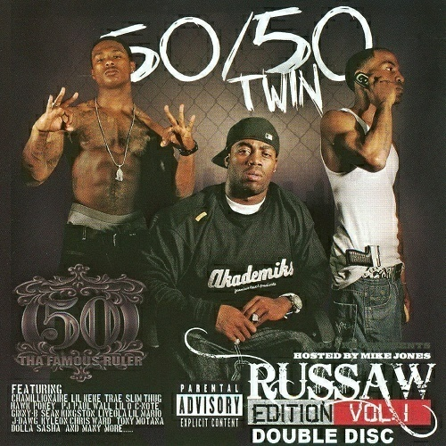 50-50 Twin - Russaw Edition Vol. 1 cover