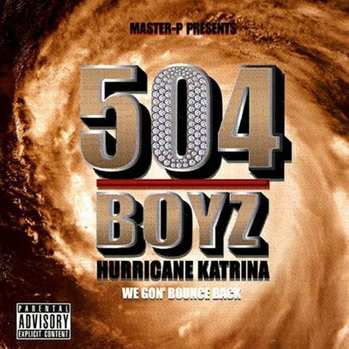 504 Boyz - Hurricane Katrina: We Gon Bounce Back cover