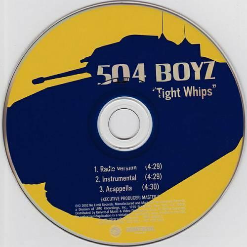504 Boyz - Tight Whips (CD Single, Promo) cover