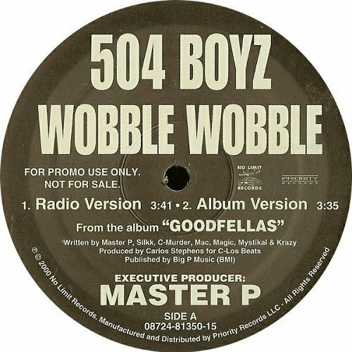 504 Boyz - Wobble Wobble (12'' Vinyl, 33 1-3 RPM, Promo) cover
