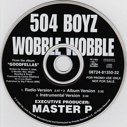 504 Boyz - Wobble Wobble (CD Single, Promo) cover