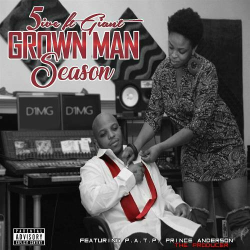 5ive Ft. Giant - Grown Man Season cover