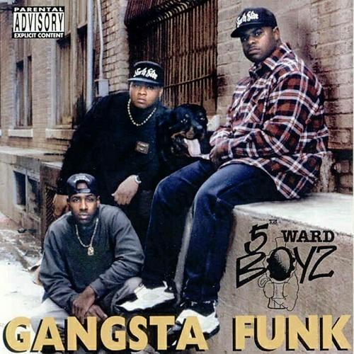 5th Ward Boyz - Gangsta Funk cover