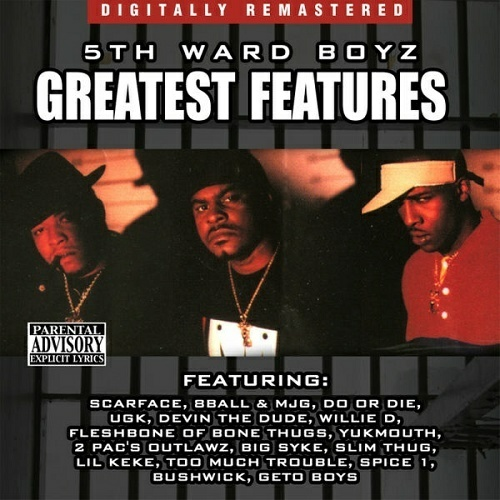 5th Ward Boyz - Greatest Features cover
