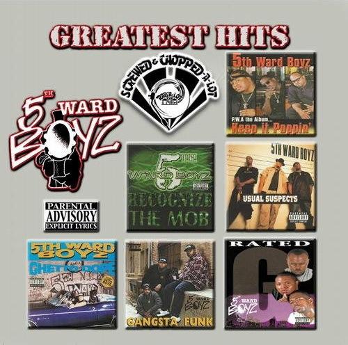 5th Ward Boyz - Greatest Hits (screwed & chopped) cover