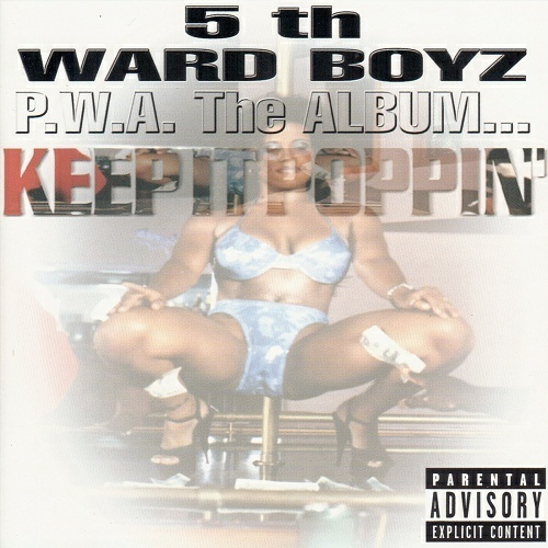 5th Ward Boyz - P.W.A. The Album... Keep It Poppin` cover