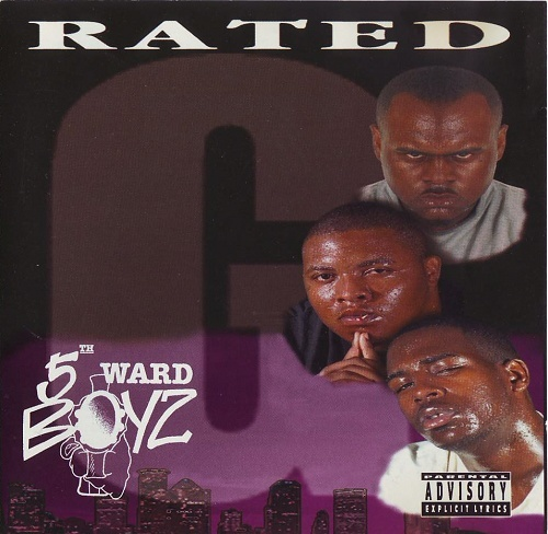5th Ward Boyz - Rated G cover