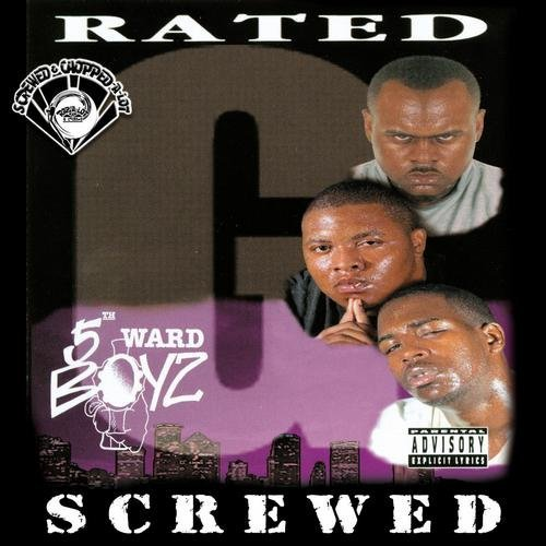 5th Ward Boyz - Rated G (screwed) cover