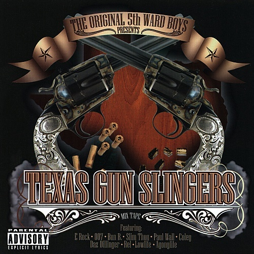 5th Ward Boyz - Texas Gun Slingers cover