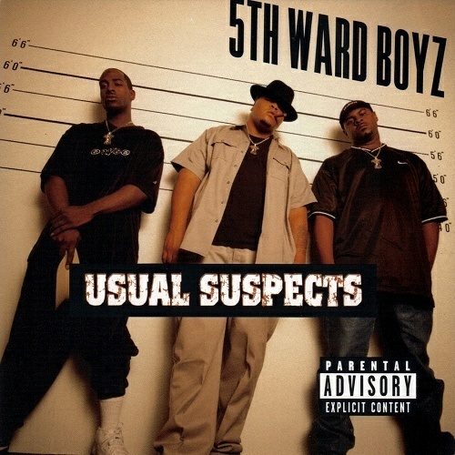 5th Ward Boyz - Usual Suspects cover