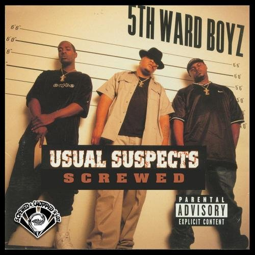 5th Ward Boyz - Usual Suspects (screwed) cover