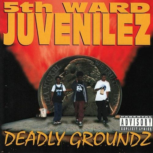 5th Ward Juvenilez - Deadly Groundz cover
