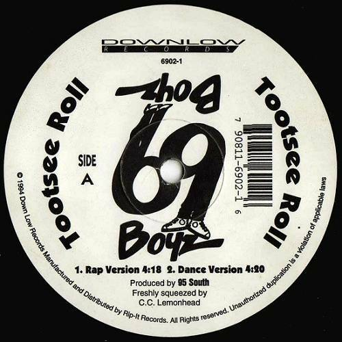 69 Boyz - Tootsee Roll (12'' Vinyl, 33 1-3 RPM) cover