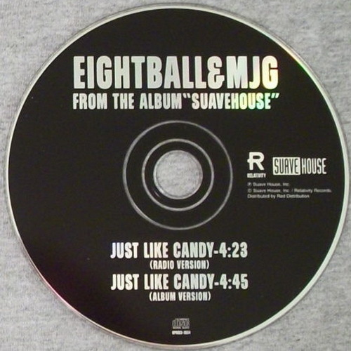 Eightball & MJG - Just Like Candy (Promo CDS) cover