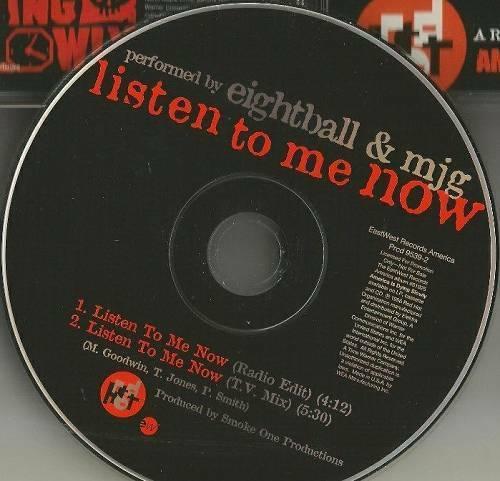 Eightball & MJG - Listen To Me Now (CD Single Promo) cover
