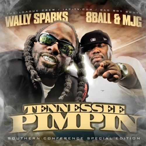 8Ball & MJG - Tennessee Pimpin cover