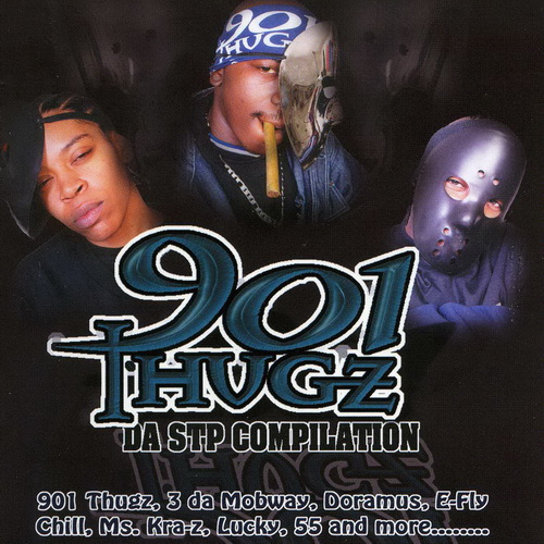 901 Thugz - Da STP Compilation cover