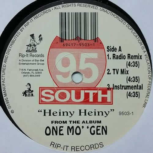 95 South - Heiny Heiny (12'' Vinyl) cover