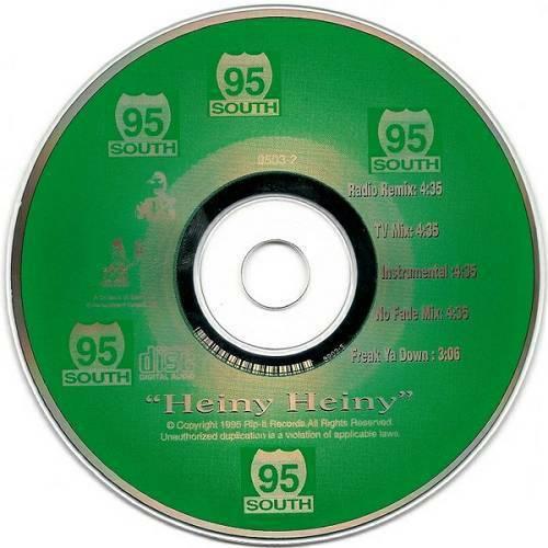 95 South - Heiny Heiny (CD Single) cover