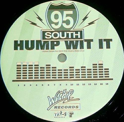 95 South - Hump Wit It (12'' Vinyl, 33 1-3 RPM, Promo) cover