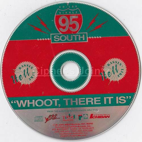 95 South - Whoot, There It Is (CD Single) cover