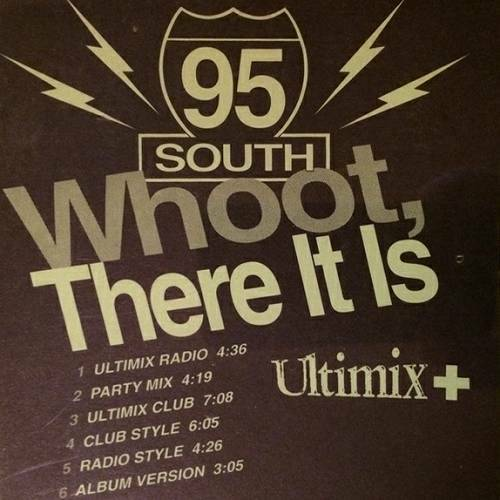 95 South - Whoot, There It Is (CD Single, Promo) cover