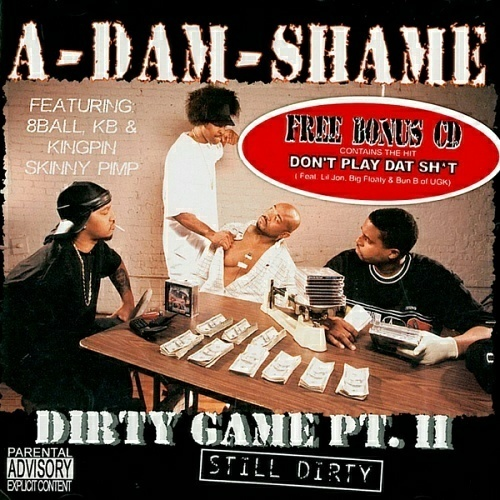 A-Dam-Shame - Dirty Game, Pt. II. Still Dirty cover