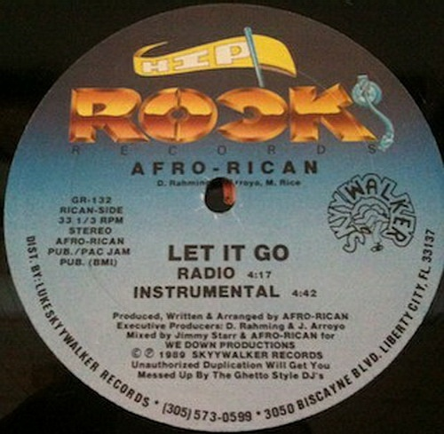 Afro-Rican - I Can Do That # Let It Go (12'' Vinyl, 33 1-3 RPM) cover