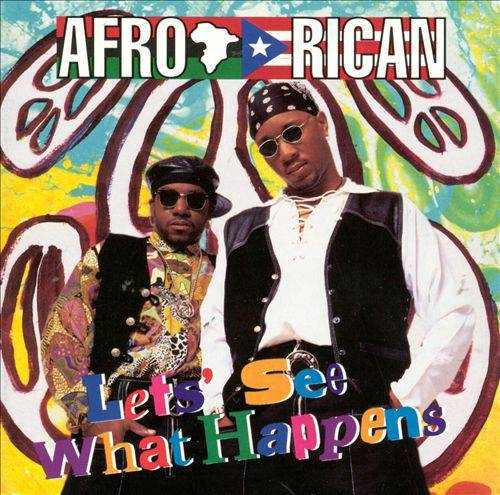Afro-Rican - Let`s See What Happens cover