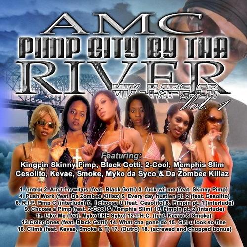 AMC - Pimp City By Tha River cover