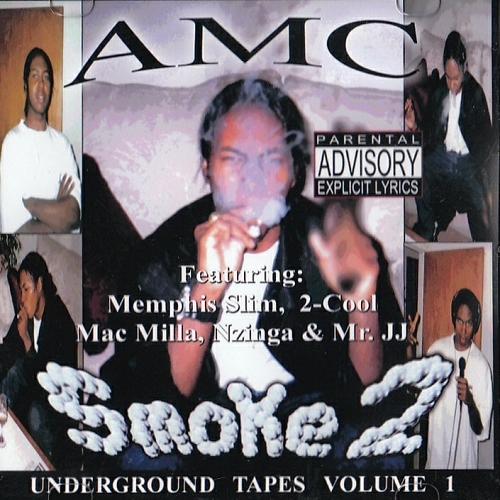 AMC - Smoke 2. Underground Tapes Vol. 1 cover