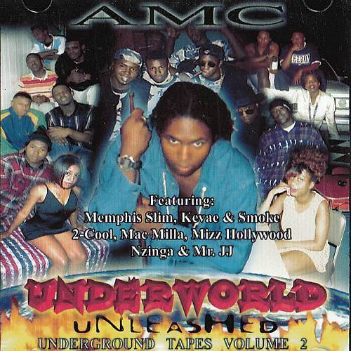 AMC - Underworld Unleashed. Underground Tapes Vol. 2 cover