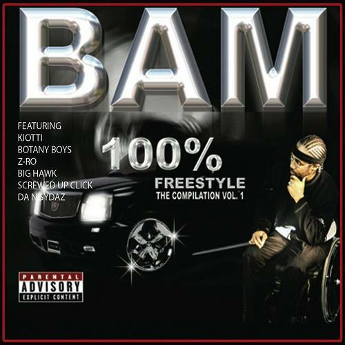 Bam - 100% Freestyle Compilation, Vol. 1 cover