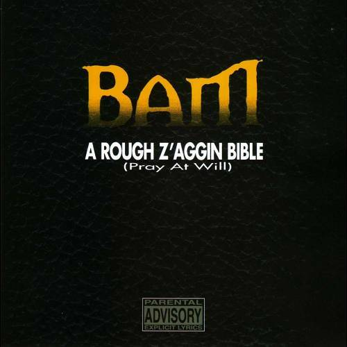 Bam - A Rough Z`aggin Bible (Pray At Will) cover