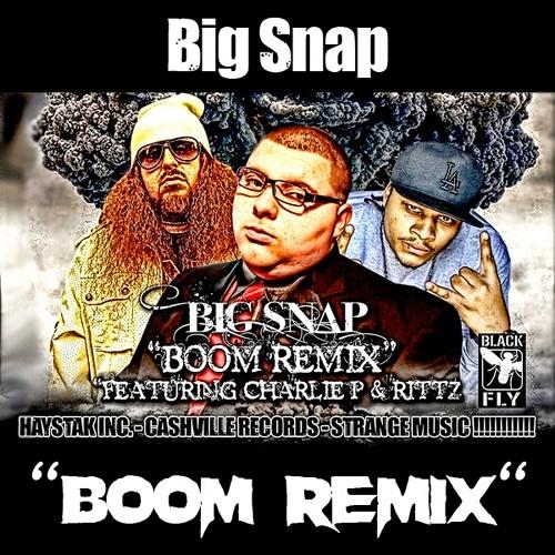 Big Snap - Boom Remix cover