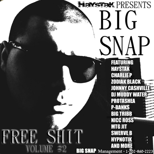 Big Snap - Free Shit Volume #2 cover