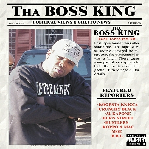 Tha Boss King - Political Views & Ghetto News cover