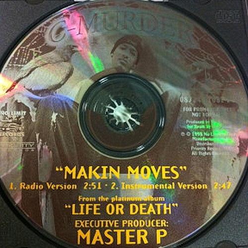 C-Murder - Makin Moves (CD Single, Promo) cover