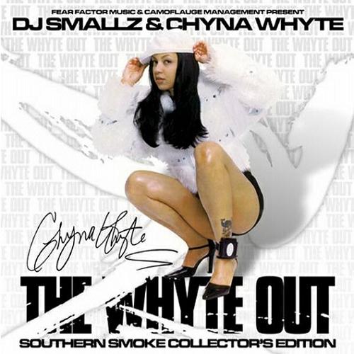 Chyna Whyte - The Whyte Out cover