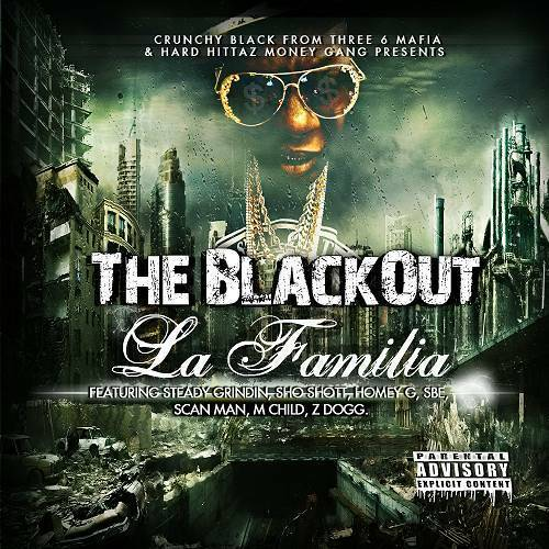 Crunchy Black - The BlackOut. La Familia cover