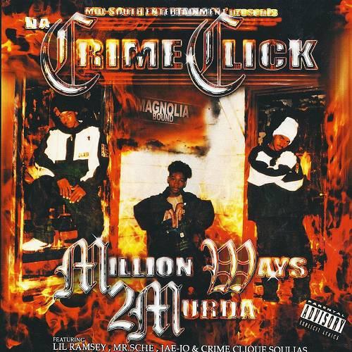 Da Crime Click - Million Ways 2 Murda cover