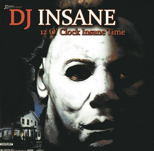 DJ Insane - 12` Clock Insane Time cover