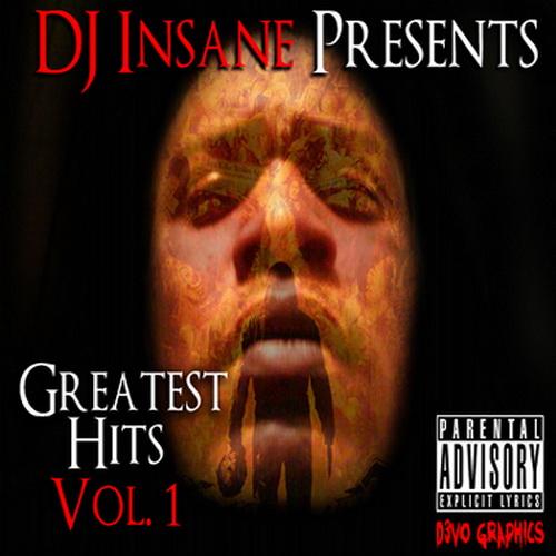 DJ Insane - Greatest Hits, Volume 1 cover