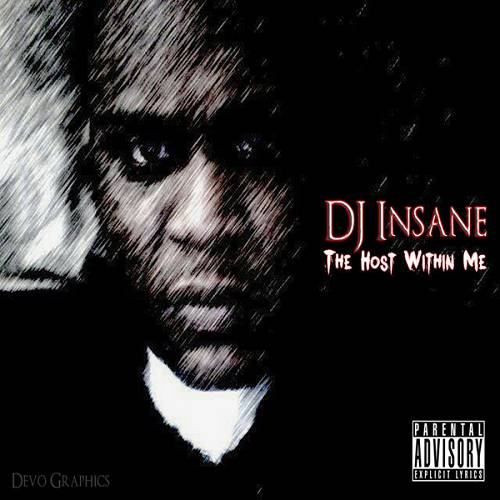 DJ Insane - The Host Within Me cover